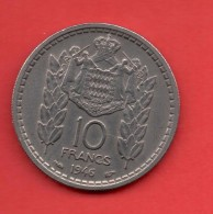 MONACO - 10 Francs  1946 - Mónaco