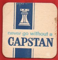 Sous-bock - Never Go Without A CAPSTAN - Sous-bocks