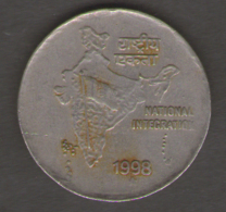 INDIA 2 RUPEES 1998 - India
