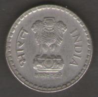 INDIA 5 RUPEES 1999 - India