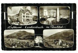 11644  CPA  Luftkurort  LAUTENBACH  ;  Carte Photo Multivues  1964 ,  ACHAT DIRECT !!! - Lauterstein
