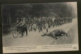 Forêt De Laigue: Zoeaven Marcheren Voorbij Dood Paard - Guerre 1914-18