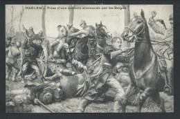CPA - HAELEN - HALEN - Prise D'une Batterie Allemande Par Les Belges - Guerre - Militaria  // - Halen