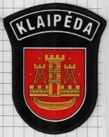 Ecusson / Patch / Toppa / Parche. Europe. EU. Police. Lithuania. City Klaipeda - Patches