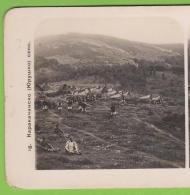 208303 / Karakachan Village -  The Life Of Bulgarians Of East - Stereoscope Card - Bulgaria Bulgarie Bulgarien Bulgarije - Bulgaria