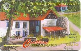 British Virgin Islands - Sugarcane Factory - 218CVVB - 1998, 30.000ex, Used