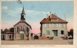 57 BOULAY  Chapelle Sainte-Croix Et Gendarmerie - Boulay Moselle
