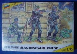 German Machinegun Crew 1/35 Zvezda - Figurines