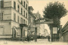 Cpa PARIS XII - La Villa Du Bel Air, Rue Du Niger - Institution De Demoiselles - District 12