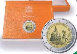 VVK Vatikan 2016 - ORIGINAL Offizielle 2 Euro Gedenkmünze - 200 Jahre Gendamerie - Vatican