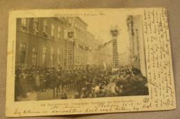 Huwelijk Koningin Wilhelmina Met Hendrik Van Mecklenburg 7 Februari 1901 // Bruidsstoet (3775) - Familias Reales