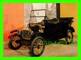 AUTOMOBILE -1913 FORD MODEL T - LE MUSÉE NATIONAL DES SCIENCES ET DE LA TECHNOLOGIE, OTTAWA - - Voitures De Tourisme