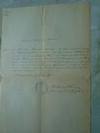 D137988.19 Old Document  Hungary  Rosalia Urmann -Joseph Kohn - 1875 Budapest - Verloving