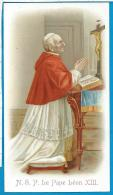 Holycard     Pope  Leon  XIII - Images Religieuses
