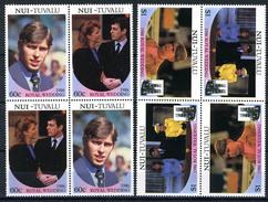 1986 - NUI - TUVALU - Catg. Mi.  76/80 - NH - (CW BLOCK147) - SARA E ANDREW - Tuvalu