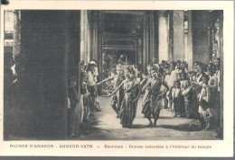 ANGKOR VATH,DANZATRICI .. VIAGGIATA.NO. 1920.FP.I.1254-M - Cambodia