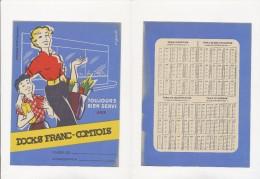 Publicite - Protege-Cahiers - DOCKS FRANC-COMTOIS - D