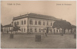 Postal Cabo Verde - Cap Vert - Cidade Da Praia - Palacio Do Governador - Carte Postale - Postcard - Cape Verde