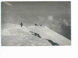 Randonneurs Dans La Neige 1925 - Cartes Postales