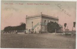 Postal Cabo Verde - Cap Vert - S. Tiago - S. Thiago - Deposito D´Agua Mont´Agarro - Carte Postale - Postcard - Cape Verde