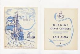Publicité - Protege-Cahiers - JACQUEMAIRE - Buvards, Protège-cahiers Illustrés
