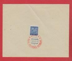 Tchécoslovaquie  --env Timbre N 252 Avec Cachet Praha 1     18/12/1935 - Covers & Documents