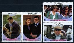 1986 - TUVALU - Catg. Mi.  377/381 - NH - (CW BLOCK147) - SARA E ANDREW - Tuvalu