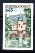 FRANCE -  YT N° 1602  Non Dentelé Bdf  - Neuf *** - MNH - Cote: 23,00 € - France