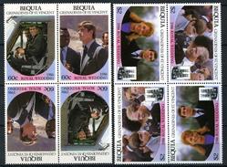 1986 - BEQUIA - Catg. Mi.  191/194 - NH - (CW BLOCK147) - SARA E ANDREW - St.Vincent (1979-...)
