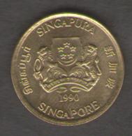 SINGAPORE 5 CENTS 1990 - Singapore