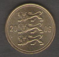 ESTONIA 50 SENTI 2006 - Estonia