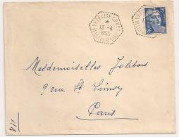 VEZELISE C.P N°3, MEURTHE ET MOSELLE. Circuit Postal. GANDON. - 1921-1960: Modern Period