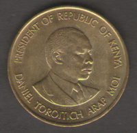 KENIA 10 CENTS 1991 - Kenia