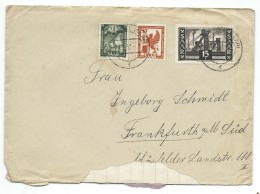 Germany.Saar.1947-56 Protectorate.Letter.nice Stamps - 1947-56 Protectorate