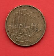 ALEMANIA - GERMANY - Republica Democratica 50 Pfennig 1950 - [ 6] 1949-1990 : RDA - Rep. Dem. Alemana