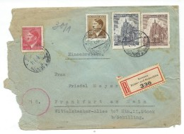 Bohemia & Moravia 1945.R - Letter.Rosenau.2 Scans - Bohemia & Moravia