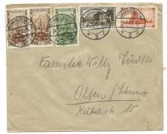 Germany.Saar.Saargebiet.1933 Letter - 1920-35 League Of Nations