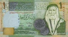 Jordan 1 Dinar 2002 Pick 34a UNC - Jordanie