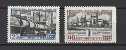 RUSSIE . YT 2303/2304 Neuf **  Réalisation Du Plan Septennal  1960 - Nuovi