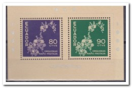 Ecuador 1960, Postfris MNH, Flowers, Orchids - Ecuador