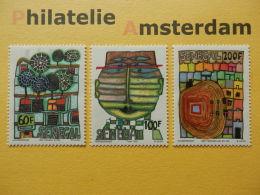 Senegal 1979, HUNDERTWASSER / ARTS PAINTINGS: Mi 705-07, ** - Senegal (1960-...)