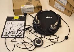 Casque Micro JABRA Biz 2400 Duo USB, Communication Standar Telephone Mains Libres Jeux En Ligne Démarchage Telephonique - Téléphonie