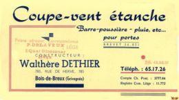BOIS DE BREUX / Grivegnée - Textile & Vestimentaire