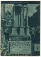 QUADERNO ROMA NUOVE VESTIGIA ANNI 30 FASCISMO - Old Paper