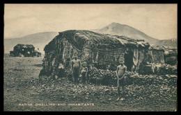 SÃO VICENTE -  COSTUMES - Native Dwelling And Inhabitats ( Ed. L. & D. )   Carte Postal - Cap Vert