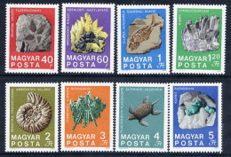 HUNGARY 1969 Geological Institute Set MNH / **.  Michel 2520-27 - Hungary