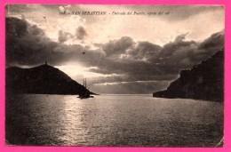 San Sebastian - Entrada Del Puerto - Efecto Del Sol - Voilier - G.G. GALARZA Cliché GONZALEZ - 1917 - Orense