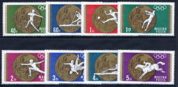 HUNGARY 1969 Olympic Medals Set MNH / **.  Michel 2477-84 - Hungary