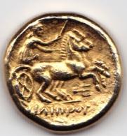MACEDOINE Jeton Philippe II Statère IVè Avt JC Collection BP Trésor Des Monnaies Antiques TTB Publicité Pièce Monnaie - Royaux / De Noblesse