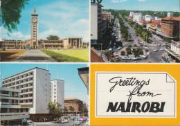 Kenia - Nairobi - Views - Cars - 2x Nice Stamps - Kenia